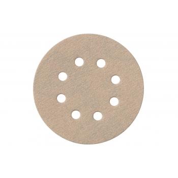 Шлифовальные листы на липучке для лакокрасочных покрытий ? 125 мм, 8 отверстий, 25 шт. P 40